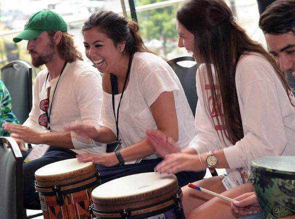Drumming as a Team Building Activiity