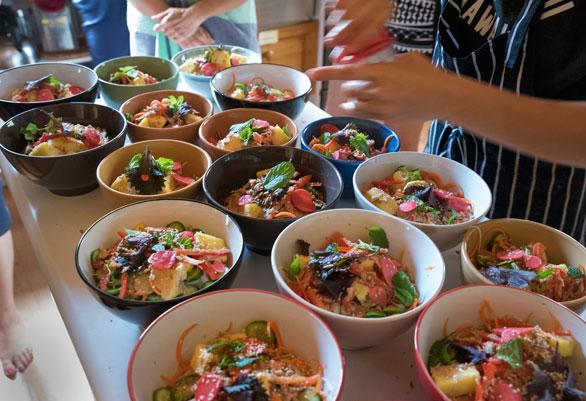 Drumming Retreat Food
