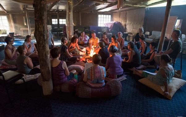 Drumming Mindfulness Retreat Havan