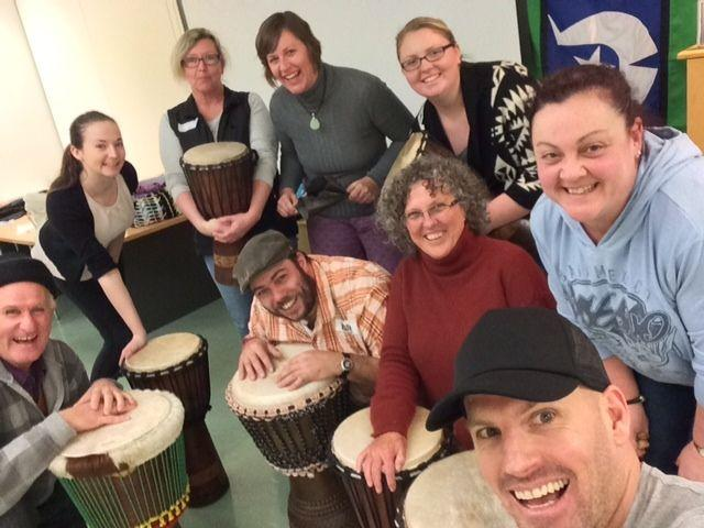 Melbourne Drum Therapy Facilitator Training April 2020