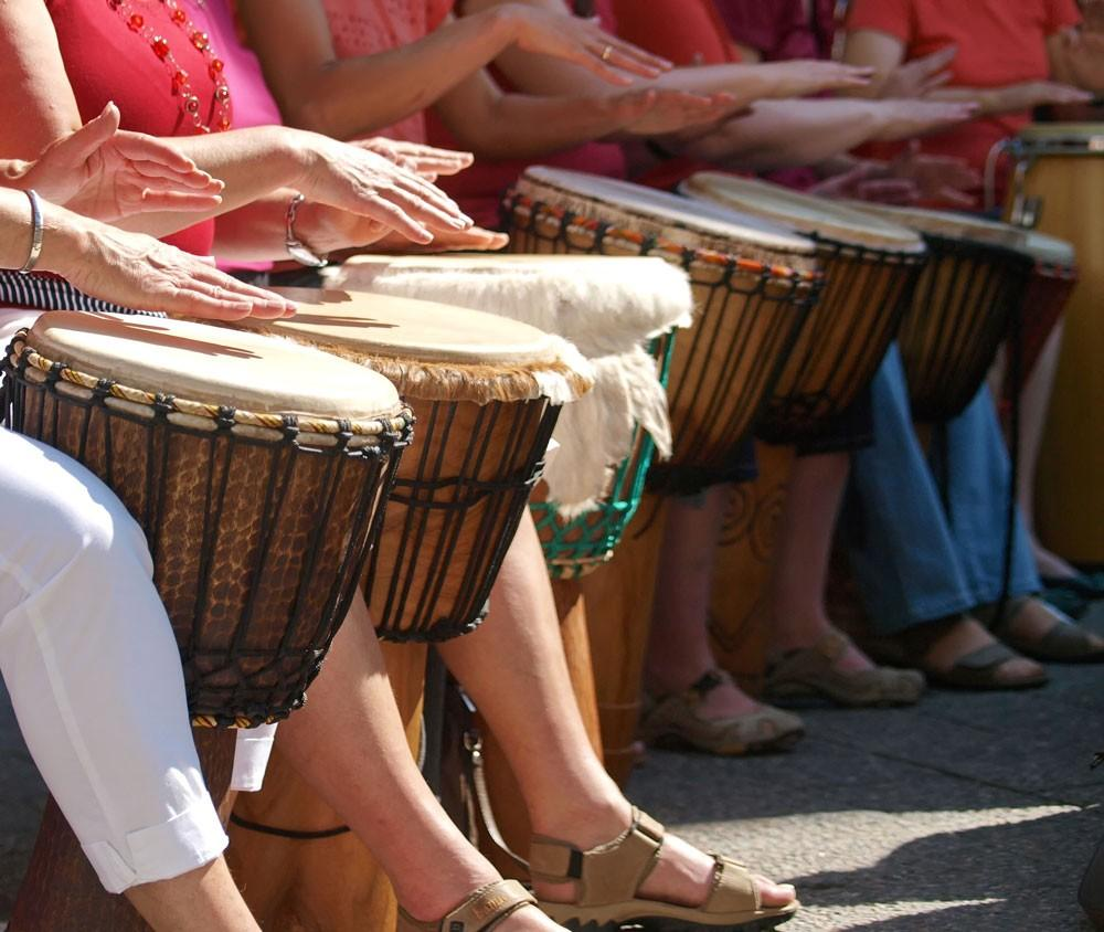 Therapeutic Effects of Rhythm and Drumming
