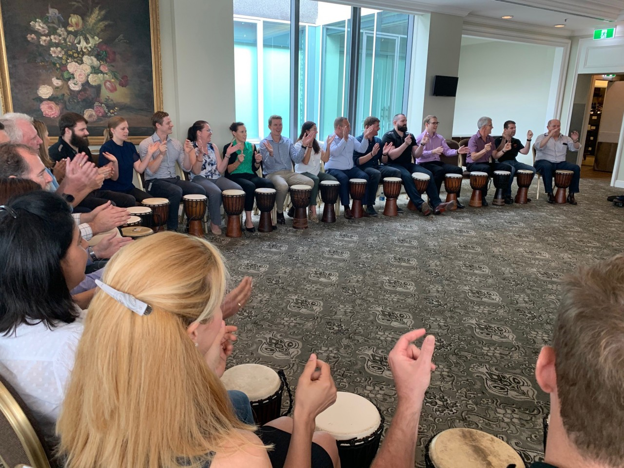 Conference Drumming