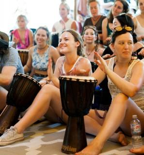 Improving Your Mental Health with Group Drumming