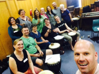 Sydney Drum Therapy Facilitator Training October 2019